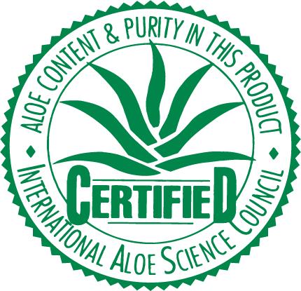 Aloe vera certification