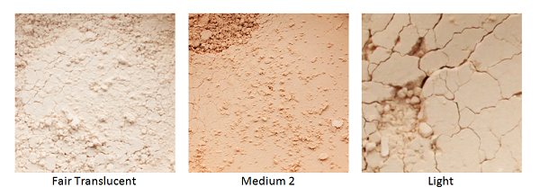 Mineral Face Powder tones
