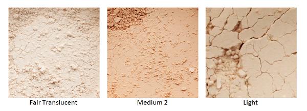 Mineral Face Powder tones