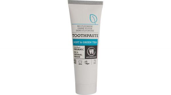 Mint & green tea toothpaste organic 75 ml