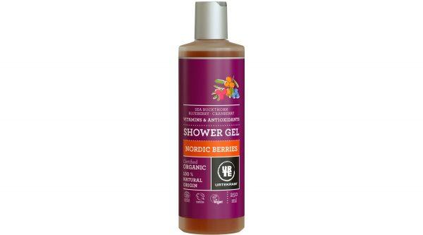 Nordic berries shower gel organic 250 ml
