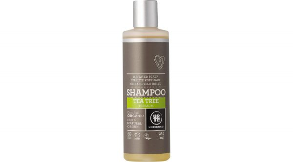 Tea tree shampoo irritated scalp organic 250 ml