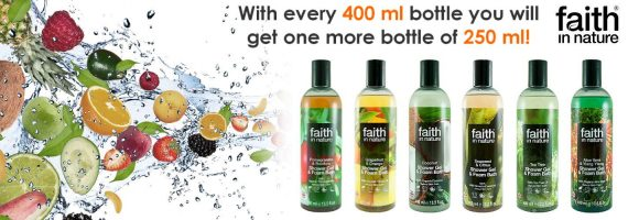 Faith in nature shower gelsEN