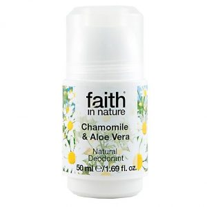 Chamomile and aloe vera deodorant