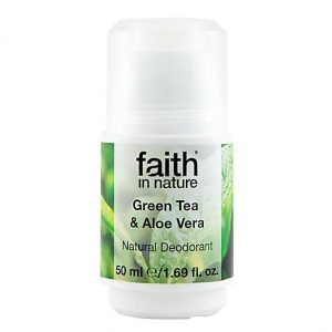 Tea tree and aloe vera deodorant Faith in Nature