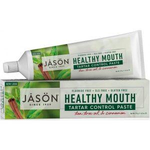 οδοντόκρεμα Healthy Mouth χωρίς φθόριο