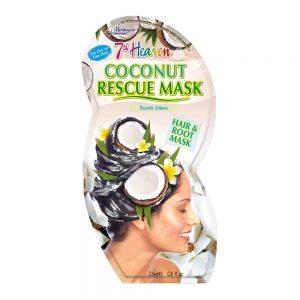 Μάσκα μαλλιών με λάδι καρύδας